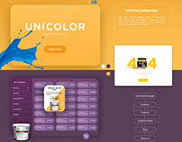 Unicolor | E-commerce | Paint store