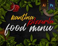 Kantina Pizzeria Food Menu