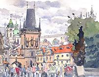 Sketching Prague