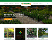 Garden Nursery Website Design by Nexstair Technologies