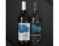Wine etikett - Trabini