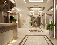 Resta Hotel lobby interior design
