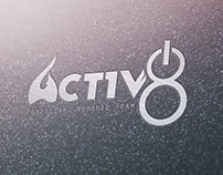 "Act1v8 ""activate"" Praise & Worship Team Logo design"
