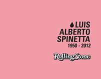 "Rolling Stone ""Luis Alberto Spinetta"""