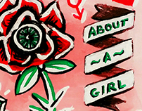 An Illustrated Story - about a girl