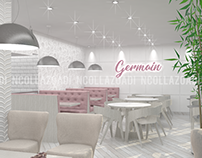 05/2018 Interior Design Germain Bakery and Coffee Shop