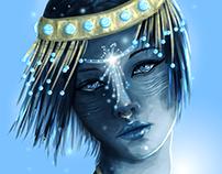 crystal portraits (chakras)