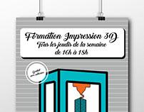 Flyer Formation Impression 3D