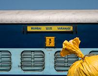 Varanasi - Train Riders