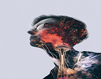 Mind Trance Double Exposure Photography