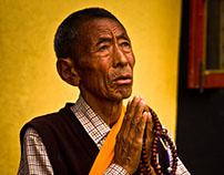 Tibetan People of Kathmandu, Nepal