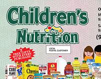 Children's Nutrition EDDM Postcard