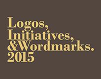 Logos, Initiatives & Wordmarks 2015.