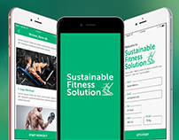 Fitness Mobile Application