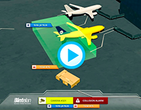 Motion Graphics - Cinema4d and AfterEffects - Airport