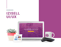 Web design and UI/UX design iZiSell