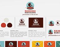 Ramonas Barcelona: Diseño de Branding e Identidad Corp.