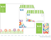 Corporate Brand Identity: Kid-O Baby Gear