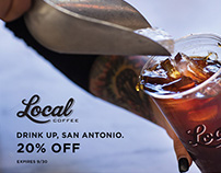 Local Coffee Facebook Ads