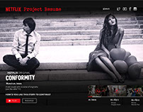 Netflix Project Resume