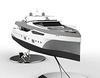 Sunseeker Sport Yacht 155 - Model (3D)