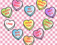 Anti Valentine - Conversation Hearts