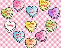 Anti Valentine - Conversation Hearts