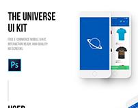 The Universe E-commerce Mobile UI kit