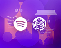 Starbucks X Spotify