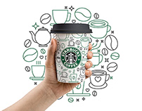 Illustration for starbuck coffee