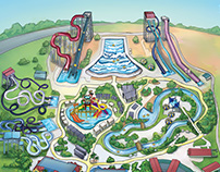 Island Waterpark Map