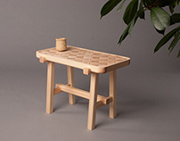 historia 01_pine stool