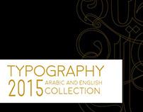 TYPOGRAPHY 2015
