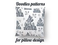 Doodles for pillow design