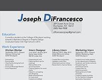 Personal Logo + Resume