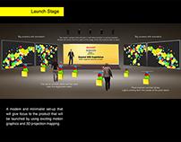 Sharp Aquos Event Design Concept
