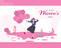 Womens's Day Banner