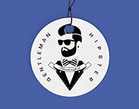 THE GENTLEMAN HIPSTER / Brand Identity