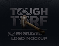 Tough Turf - Free logo mockup
