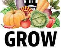 Grow Springfield logo design