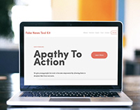 Apathy to Action, An Online Tool to Combat Fake News