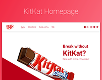 Homepage redesign: KitKat