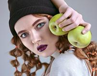Mod. portfolio Anna K.   VUV Models. The apples' story