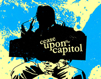 "Cease Upon The Capitol - The End of History 7"" repress"