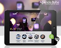 Creación y diseño de sitio web - Agencia Búho