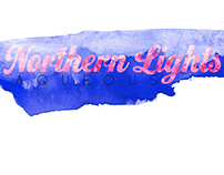 Northern Lights Illustrations: Aqueous