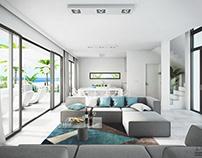 Housing estate on Tenerife