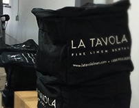 La Tavola Branded Shipping Bag Design