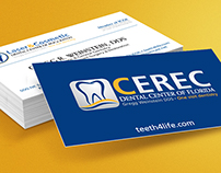 Laser & Cosmetic Dental Center Business Card