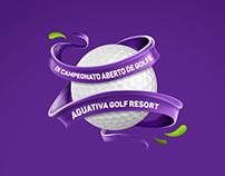 IX Campeonato de Golfe · Aguativa Resort